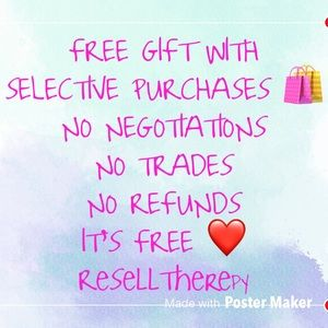 FREE GIFTS WITH SELECTIVE ITEMS